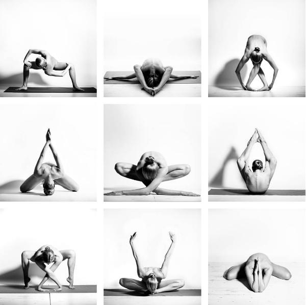 """""""Ég tel að sýna líkamann minn nakin, sé list."""" Yogagirl á Instagram"""