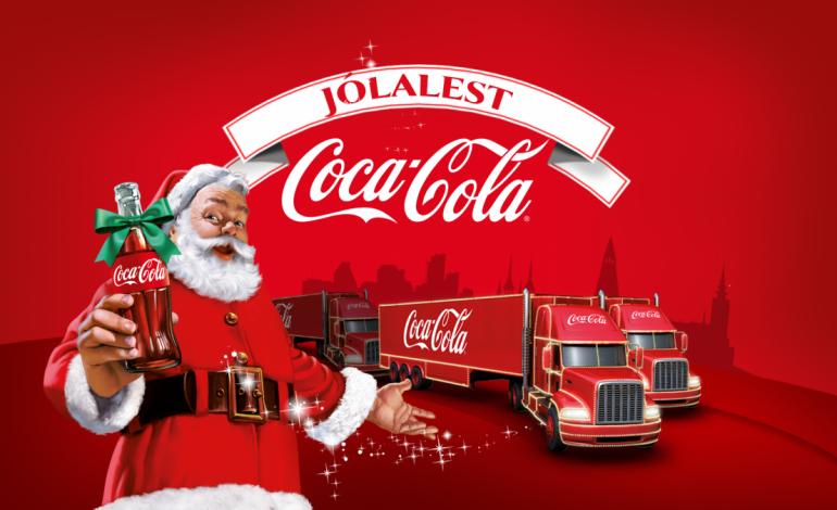 Jólalest Coca Cola heldur af stað kl 16:00 í dag