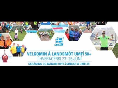 Landsmót 50+ í Hveragerði um helgina og Suðurland FM í beinni