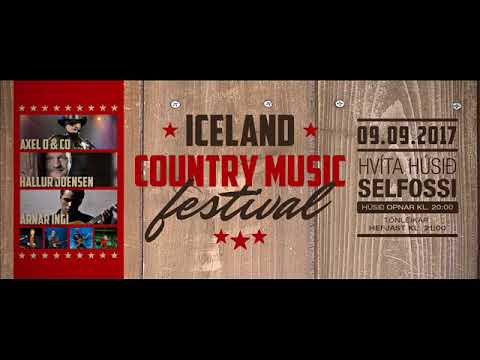 Alvöru íslenskt Country Festival í Hvítahúsinu á Selfossi á morgun