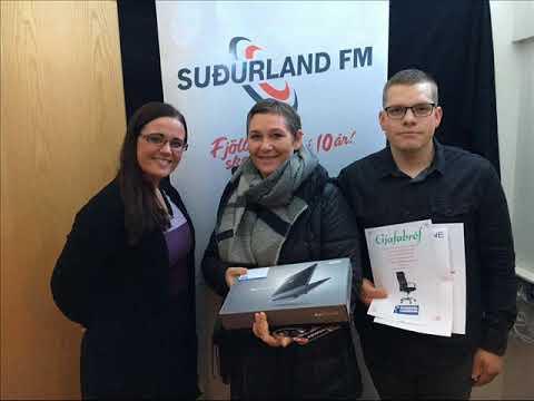 Heppni vinningshafinn í skólaleik Suðurland FM
