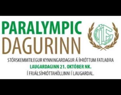 Paralympic dagurinn um liðna helgi