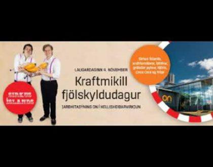 Fjölskyldudagur í Hellisheiðarvirkjun á morgun laugardag